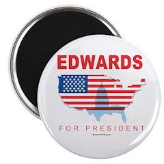 Edwards for President Magnet