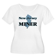 New Jersey Miner Plus Size T-Shirt