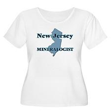 New Jersey Mineralogist Plus Size T-Shirt