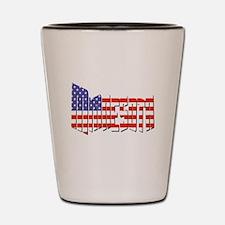 Patriotic Minnesota Shot Glass