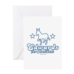 Edwards for Presiden Greeting Card