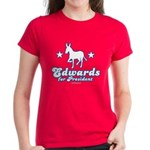 Edwards for Presiden Women's Dark T-Shirt