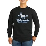 Edwards for Presiden Long Sleeve Dark T-Shirt