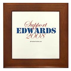 Support Edwards Framed Tile