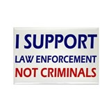 I support law enforcement not criminals 10 Pack