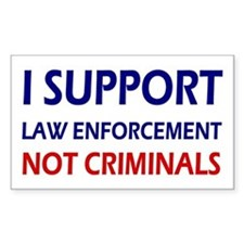 I support law enforcement not Decal