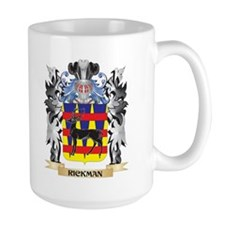 Rickman Coat of Arms - Family Crest Mugs