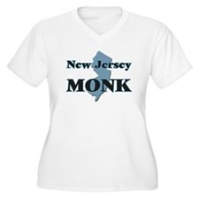 New Jersey Monk Plus Size T-Shirt