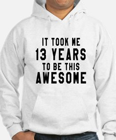 13 Years Birthday Designs Hoodie