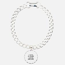 13 Years Birthday Design Bracelet
