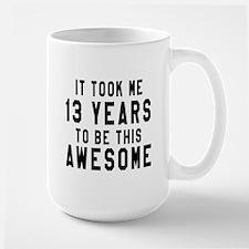 13 Years Birthday Designs Mug