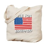Vote for Edwards Tote Bag