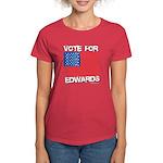 Vote for Edwards Women's Dark T-Shirt