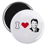I Love John Edwards Magnet