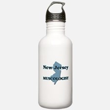 New Jersey Muscologist Water Bottle