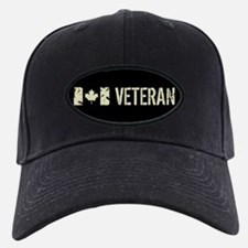 Canadian Flag: Veteran Baseball Hat