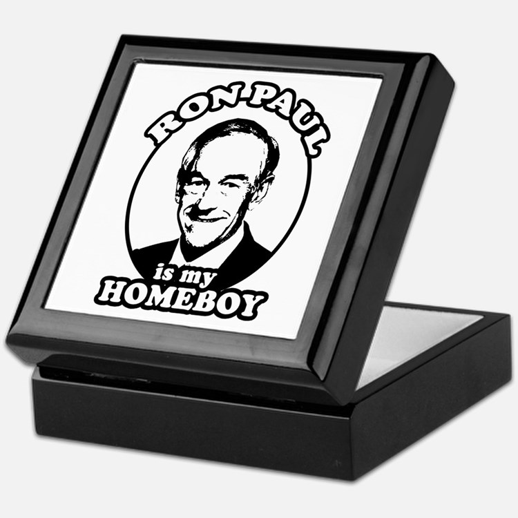 Ron Paul is my homeboy Keepsake Box