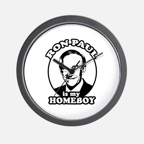 Ron Paul is my homeboy Wall Clock