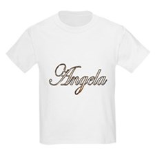 Gold Angela T-Shirt