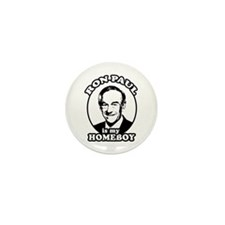 Ron Paul is my homeboy Mini Button (10 pack)