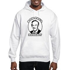 Ron Paul is my homeboy Hoodie