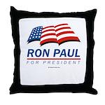 Ron Paul for President Throw Pillow