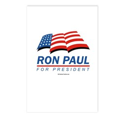 Ron Paul for President Postcards (Package of 8)
