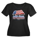 Ron Paul for President Women's Plus Size Scoop Nec