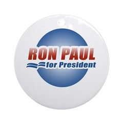 Ron Paul for President Ornament (Round)