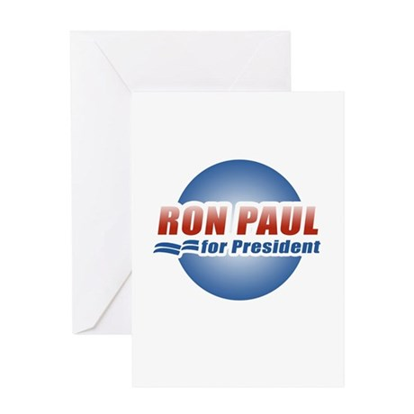 Ron Paul for President Greeting Card