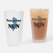 New Jersey Nun Drinking Glass