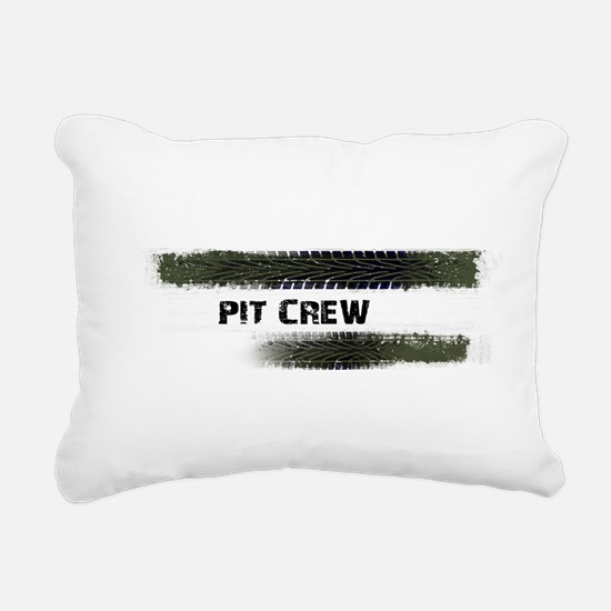 Pit Crew Rectangular Canvas Pillow