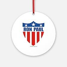 Ron Paul Ornament (Round)