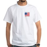 Vote for Ron Paul White T-Shirt