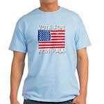 Vote for Ron Paul Light T-Shirt