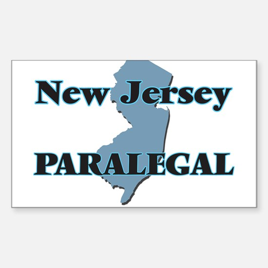 New Jersey Paralegal Decal