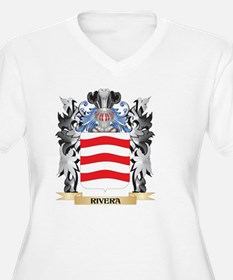 Rivera Coat of Arms - Family Cre Plus Size T-Shirt