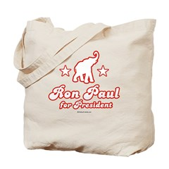 Ron Paul for President Tote Bag