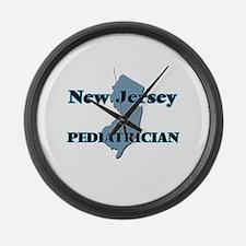 New Jersey Pediatrician Large Wall Clock