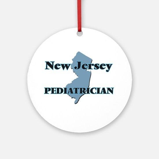 New Jersey Pediatrician Round Ornament