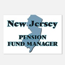 New Jersey Pension Fund M Postcards (Package of 8)