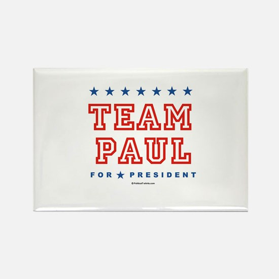 Team Paul Rectangle Magnet
