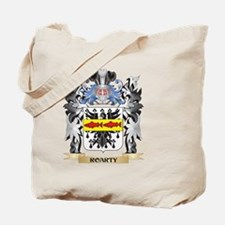 Roarty Coat of Arms - Family Crest Tote Bag