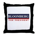 Michael Bloomberg for President Throw Pillow