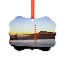Painted Bridge Ornament