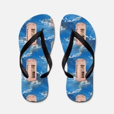 telephone booth Flip Flops
