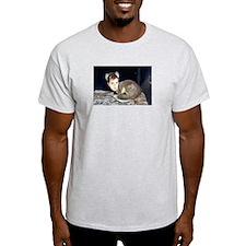 Hepweasel Grey T-Shirt