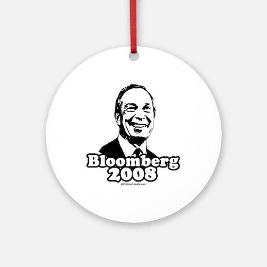 Bloomberg 2008 Ornament (Round)