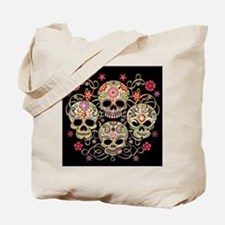 Sugar Skulls III Tote Bag