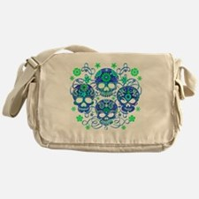 Sugar Skulls IV Messenger Bag